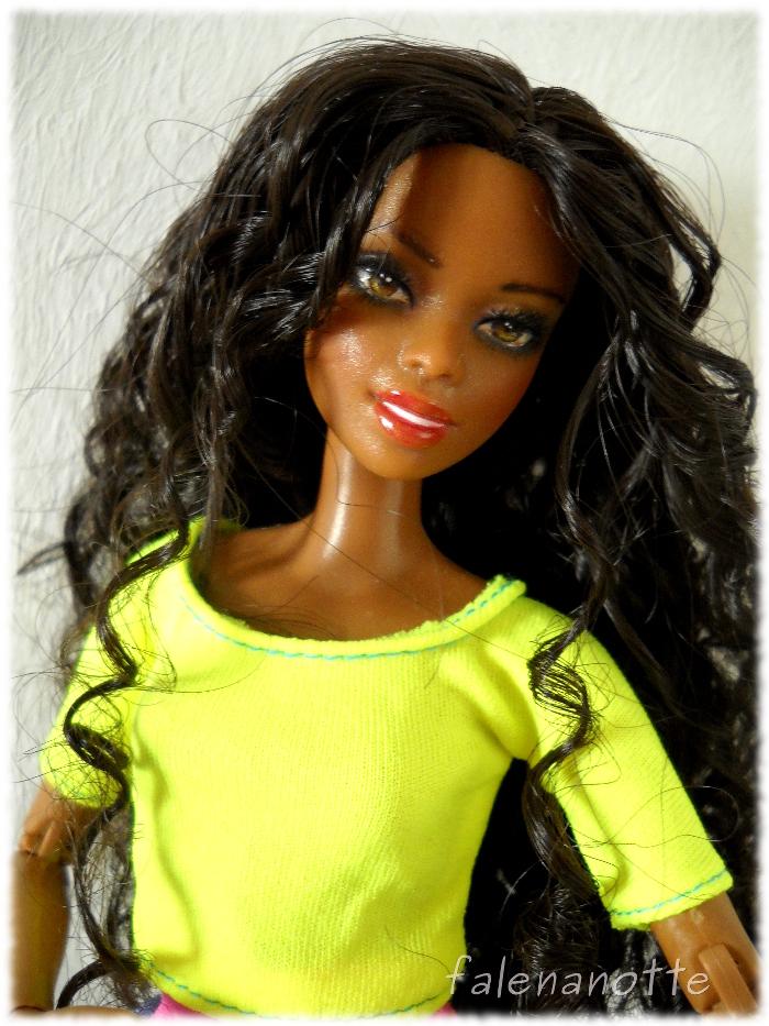 Barbie made to move ooak Imani