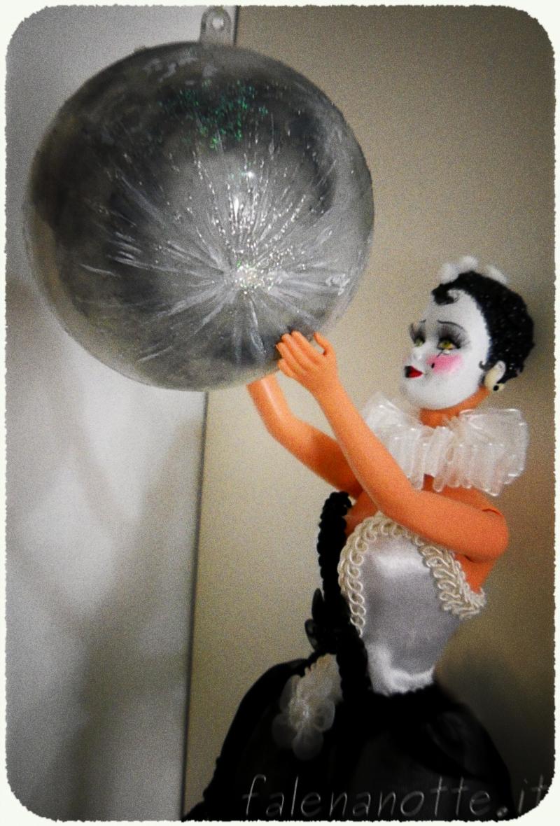 Pierrot barbie ooak